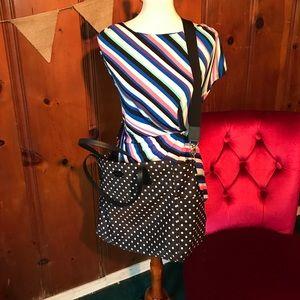 Kate Spade Polka Dot Professional or Diaper Bag