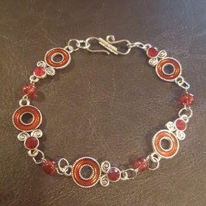 Jewelry - Beaded anklet