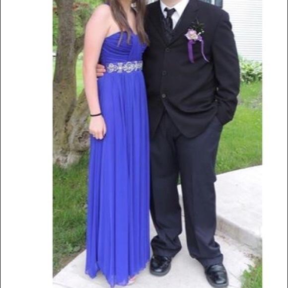 Royal Purple Prom Dresses Long