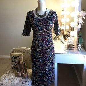 Dresses & Skirts - Beautiful Bodycon tribal pattern Sheath dress