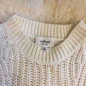 96a4f09811ba4 Aritzia Sweaters - Aritzia Wilfred Belfort Side Tie Sweater - XS