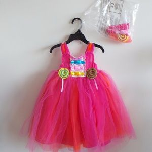 Other - New Candy Costume, sleeveless dress with tool