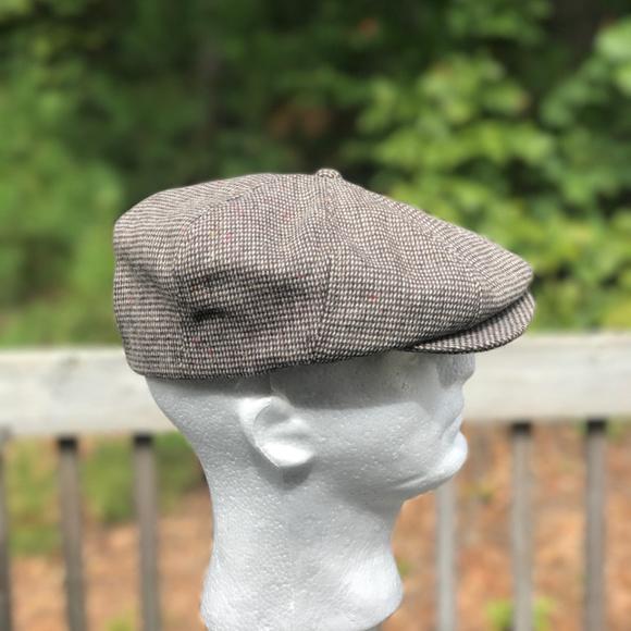 2c59d95e93 Men's Tweed Gatsby Newsboy Cap Men Hat Wool Hat