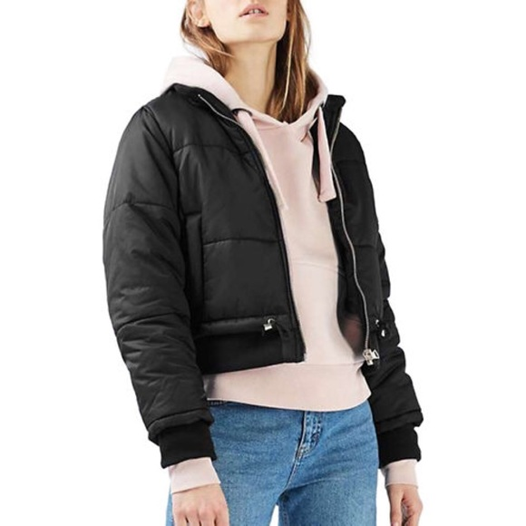 eb3d81ce2 NWT Topshop Carter Puffer Jacket NWT