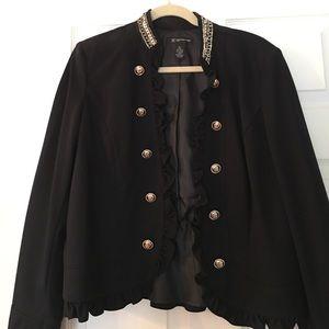 INC Military chic jacket