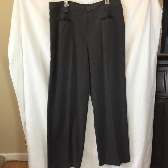 9540eb1c96c NWT Cato Womens Classic Gray Dress Pants Sz 20 W A