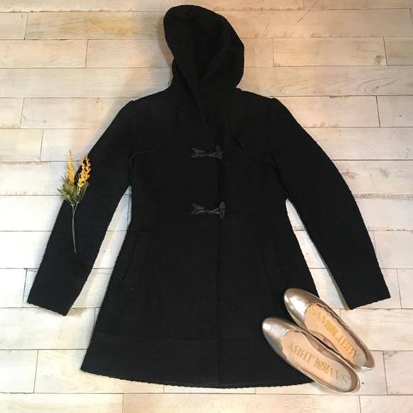 5cc7f547bcd3e Jessica Simpson Jackets   Blazers - Jessica Simpson Black Pea Coat