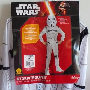 New Star Wars Storm Trooper Boys Halloween Costume