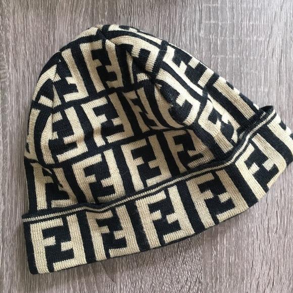 unknown Accessories - Knock-Off Fendi Beanie Hat 88b7a8cb43ec
