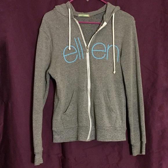 6efec9f23 Ellen Degeneres Show Jackets & Coats | The Ellen Show Grey Hoodie ...