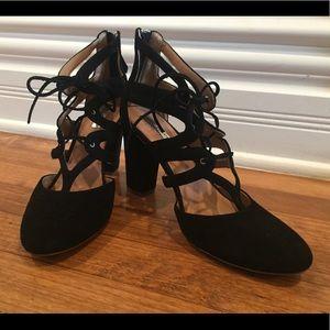 Halogen black heels