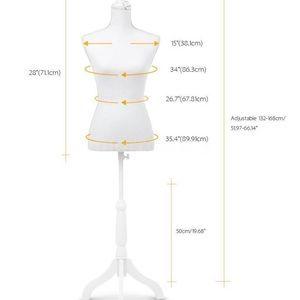Dresses & Skirts - Mannequin measurements plus push-up bra used
