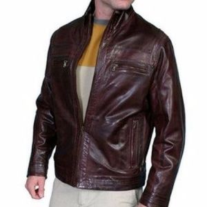 FINAL MARKDOWN!! Scully Brown Leather Jacket Lined