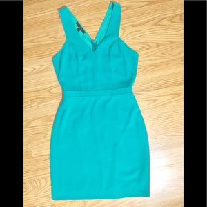 Aryn K Dresses - Aryn K Courtyard Cocktails Teal Dress XS