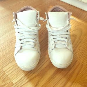 White topshop sneakers
