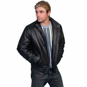 FINAL MARKDOWN! Scully Black Leather Jacket Casual