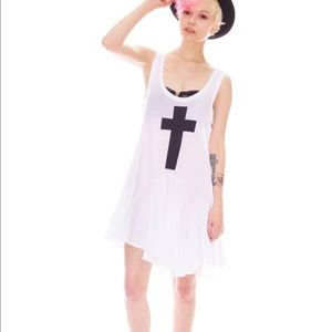 Wildfox Cross Dress Tunic - L