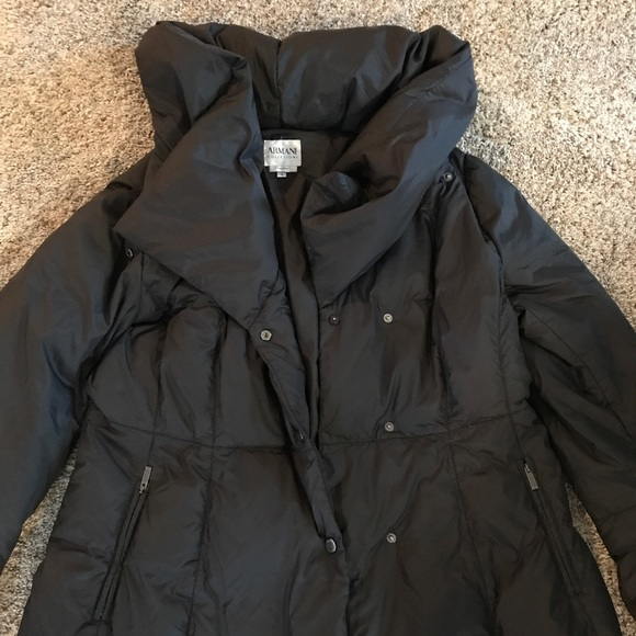 Armani Collezioni Jackets Coats Quilted Down Jacket Poshmark