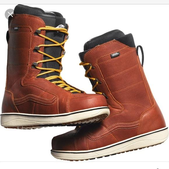6bac5611d2 Vans sz 12 men s snowboard boots v-66 leather. M 59d93c6ef739bc7a47061459