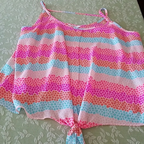 Candie's Tops - Bright summer top