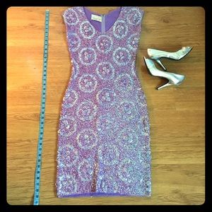 Vintage purple sequined dress -- nothing like it!!