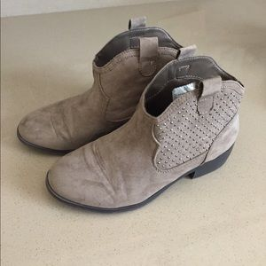 Girls justice Shorty boots