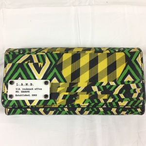 L.A.M.B. wallet cute for fall designer 100% Auth