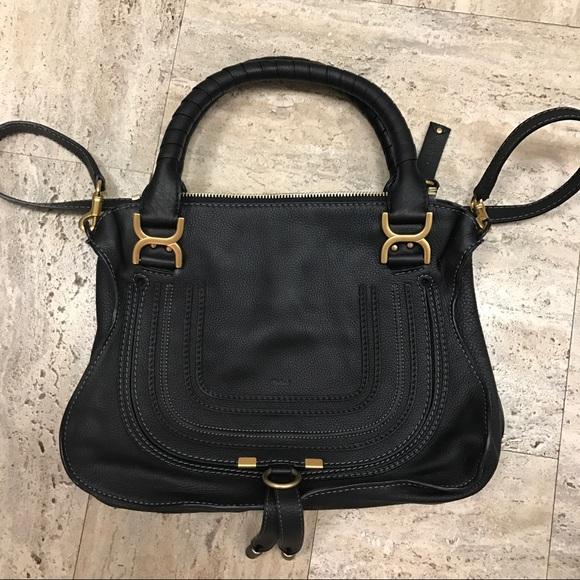 Chloe Handbags - Chloe Marcie Medium Bag Black