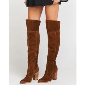 Brand new! Dolce Vita Over the Knee Brown Boots