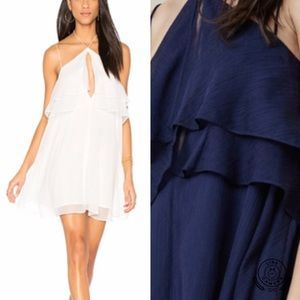 NWT FINDERS KEEPERS Mantle Chiffon Slip Dress S
