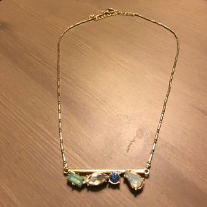 Jewelry - Rhinestone crystal gold necklace from Nordstroms