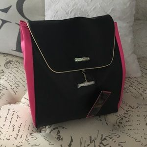 Juicy Couture backpack Black and Pink BRAND NEW