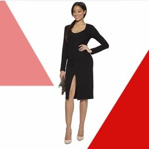 TAMAR LONG SLEEVE BLACK DRESS