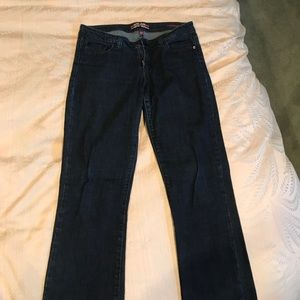 Dark blue jeans- bootcut