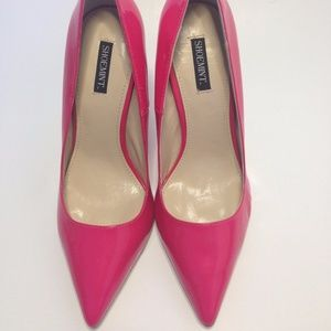 AUTENTIC Shoemint Patent Leather Neon Pink Heels