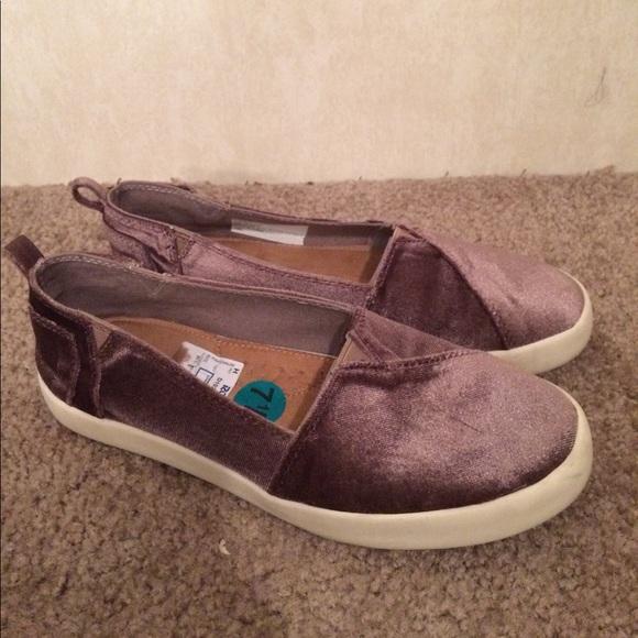 5e39e4a93aa9 Madden Girl Shoes -  11 Madden girl velour sneaker flats euc