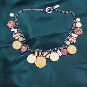 Gorgeous Vintage Coach Charm Necklace