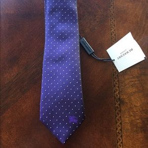 Other - Authentic Burberry Silk Tie