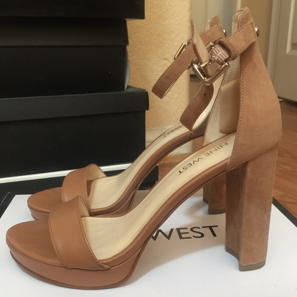 usa cheap sale great quality factory outlet Nine West Dempsey Ankle Strap Heels