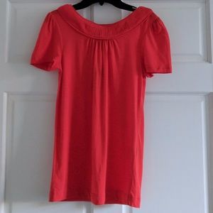 NWT Marc by Marc Jacobs Red Cotton Tee, Size S