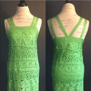 Dresses & Skirts - Apple green dress (Neiman Marcus / Nordstrom)