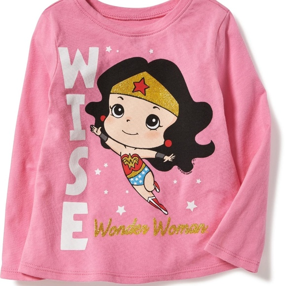 685c89553 Shirts & Tops   Pink Wonder Woman Tee Girls   Poshmark
