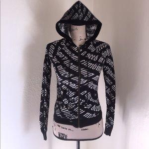 Sweater, hoodie, zip up sweater, L.A.M.B. Sweater