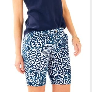 """Lilly Pulitzer NWT Chipper Short 10"""" in Home Slice"""