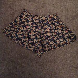 Pacsun floral flowy shorts