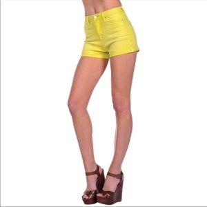Blank NYC high waisted shorts