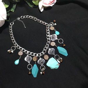 Jewelry - BLUE AQUA stone necklace 🙌🏻😍