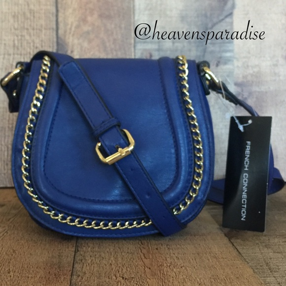 French Connection Handbags - French connection saddle bag
