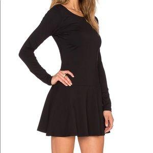 NWOT Black Susana Monaco Pixie Dress size M
