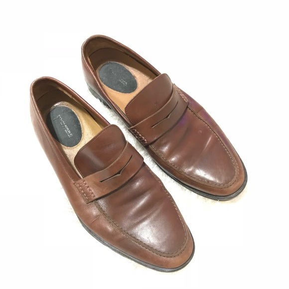 Banana Republic Mens Dellbrook Italian Leather Loafer Tan Size 10 vTbd2FaTjL